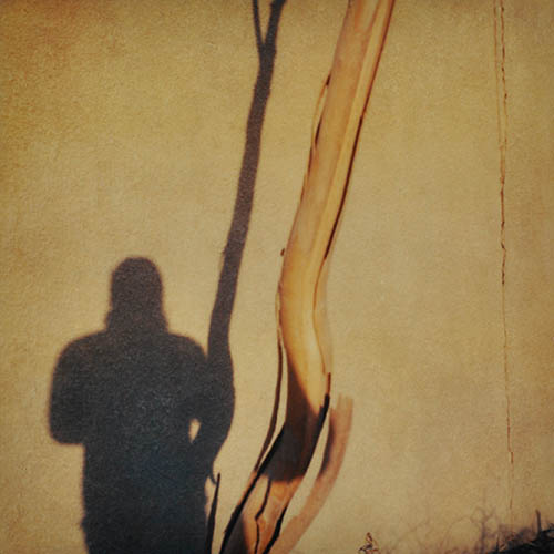 accidental self portrait. Camp Slayer Baghdad 27/10/05