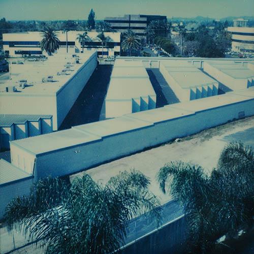 23/2/06 outside hotel window. Monrovia California (LA)