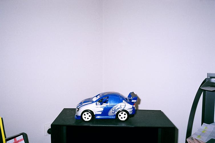 Roachie's car. 2011