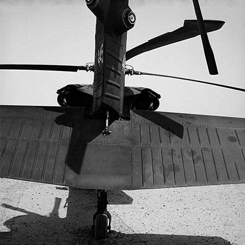 Blackhawk, near Karbala. June 2006